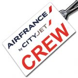AIR FRANCE BY CITYJET Crew Tag
